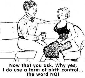 Birth control porn